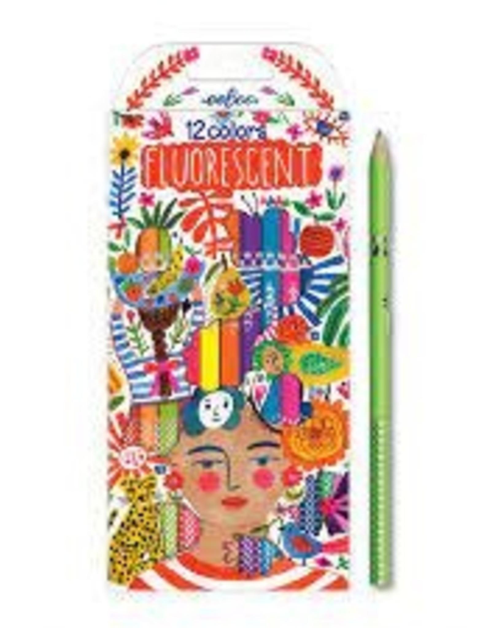 Positivity 12 Florescent Pencils