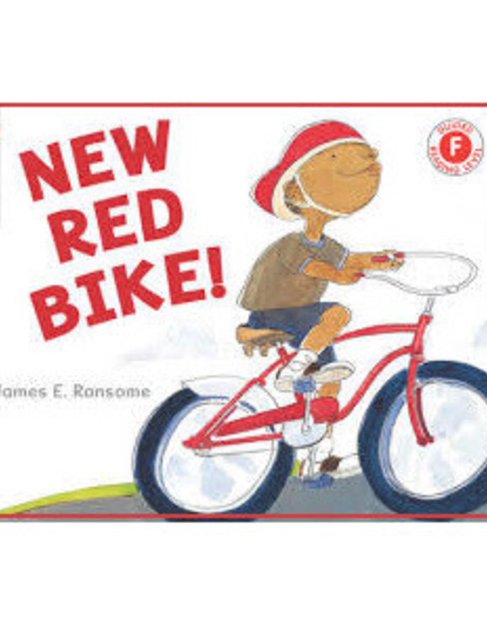 New Red Bike