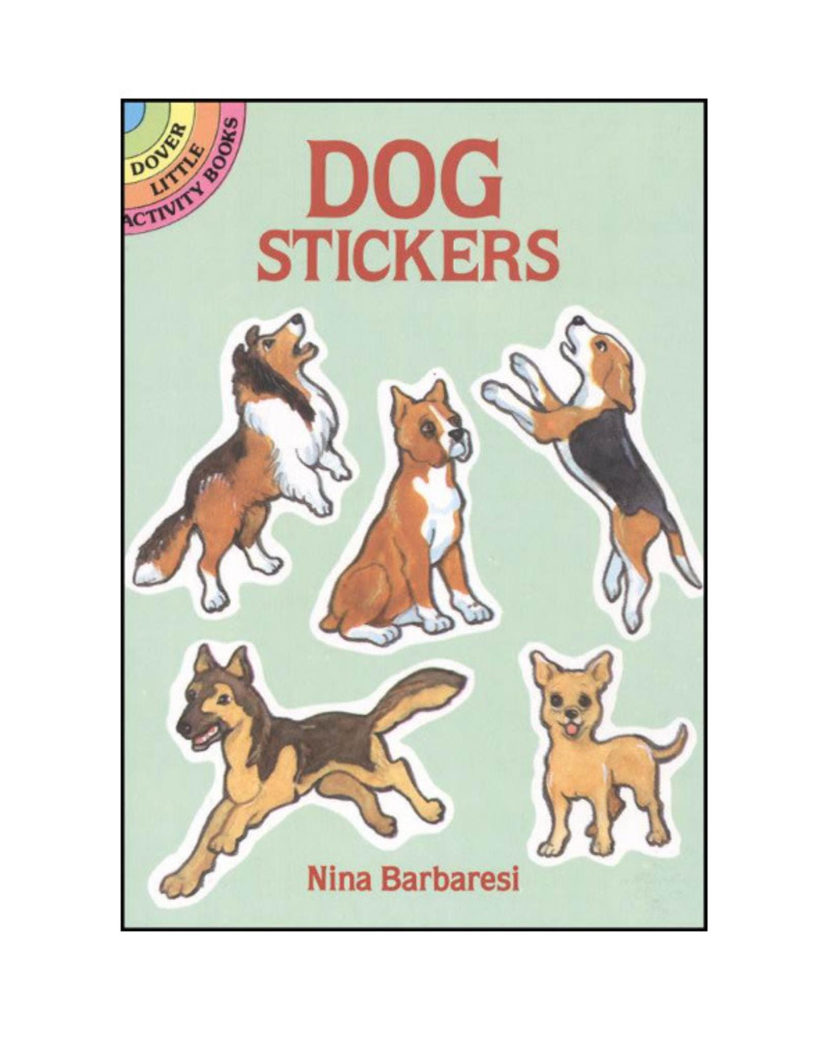 Dover Little Activity Books Little Dog Sticker Book