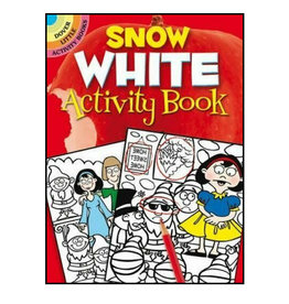 Dover Little Activity Books Snow White Activity Book