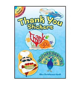 Dover Little Activity Books Thank You Stickers