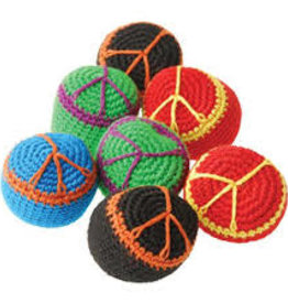 Peace Sign Footbag