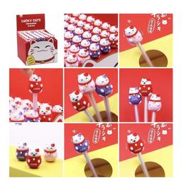 BC Mini Lucky Cat Gel Pens