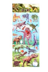 BC Mini Dinosaur Puffy Stickers