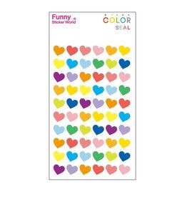 BC Mini Color Hearts Small GEL stickers-12