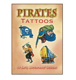 Dover Little Activity Books Pirates Tattoos
