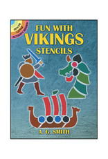 Dover Little Activity Books Fun with Vikings Stencils