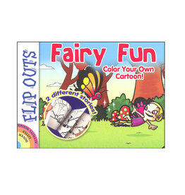 Dover Little Activity Books Fairy Fun: Color Your Own Cartoon! (Flip Outs)