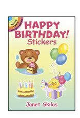Dover Little Activity Books Happy Birthday Stickers