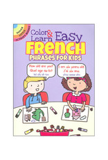Dover Little Activity Books Color & Learn Easy French Phrases for Kids