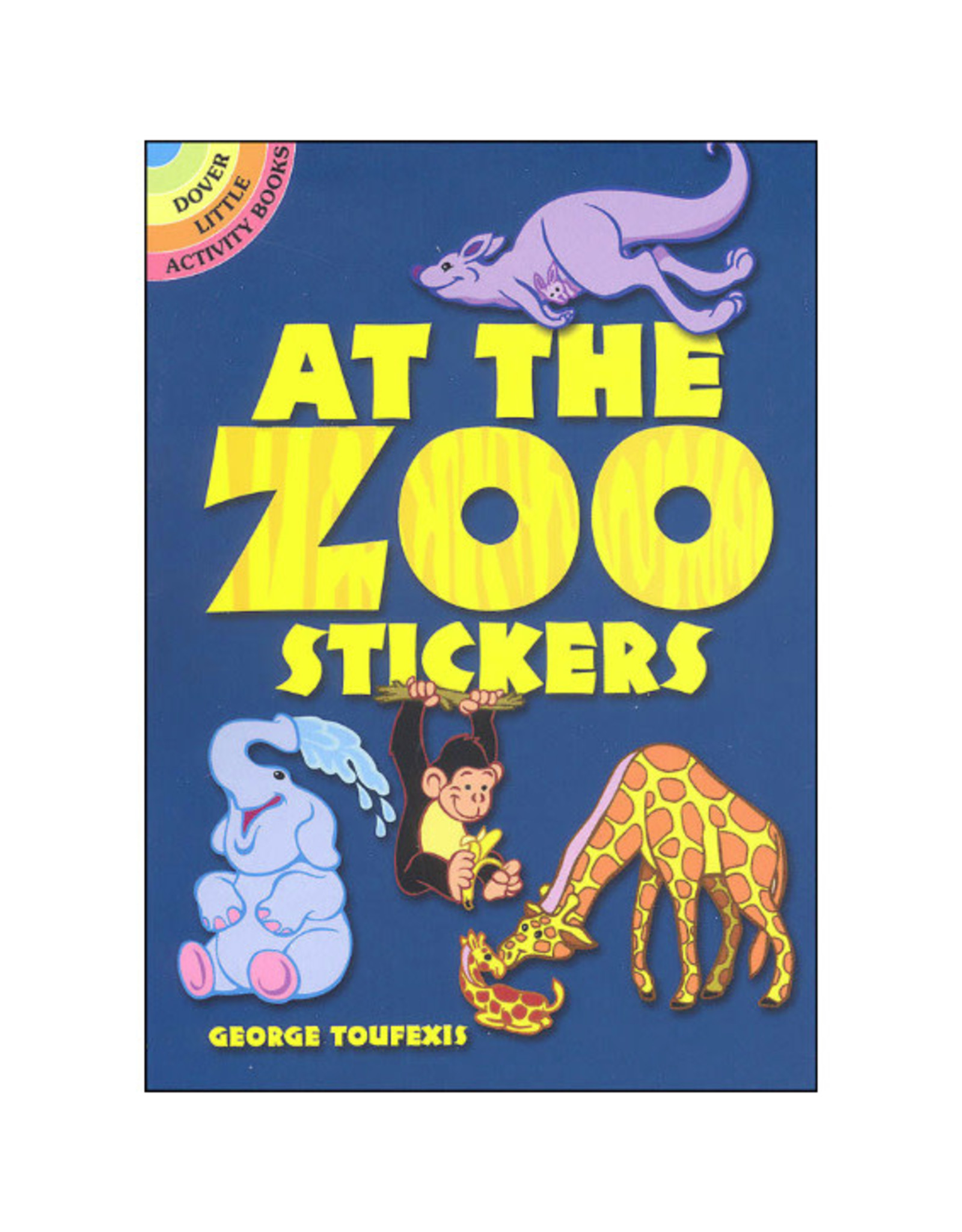 Dover Little Activity Books At the Zoo Stickers