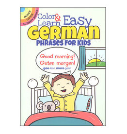 Dover Little Activity Books Color & Learn Easy German Phrases for Kids
