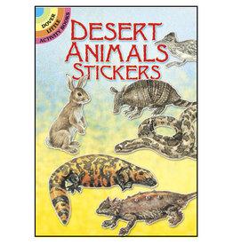 Dover Little Activity Books Desert Animals Stickers