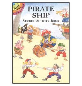 Dover Little Activity Books Pirate Ship Sticker Activity Book
