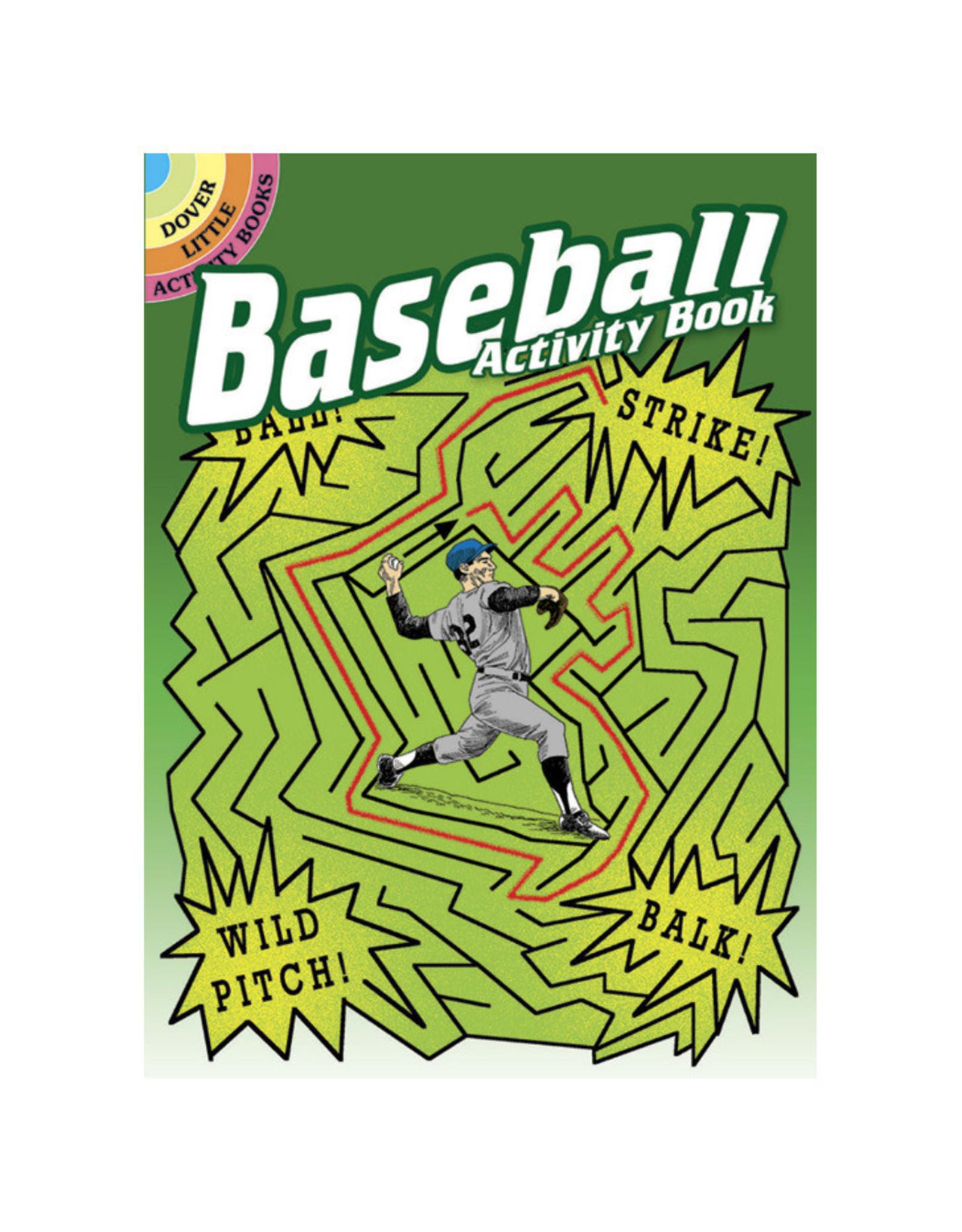 Dover Little Activity Books Baseball Activity Book