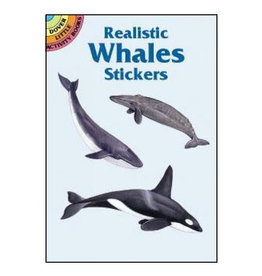 Dover Little Activity Books Realistic Whales Stickers