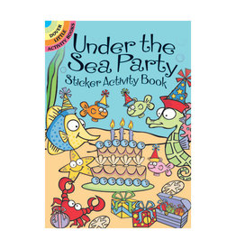 Dover Little Activity Books Under the Sea Party Sticker Activity Book