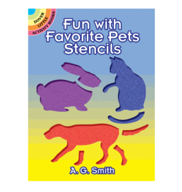 Dover Little Activity Books Fun with Favorite Pets Stencils