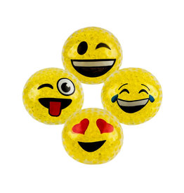 Toy Network Squeeze Bead Emoticon Ball