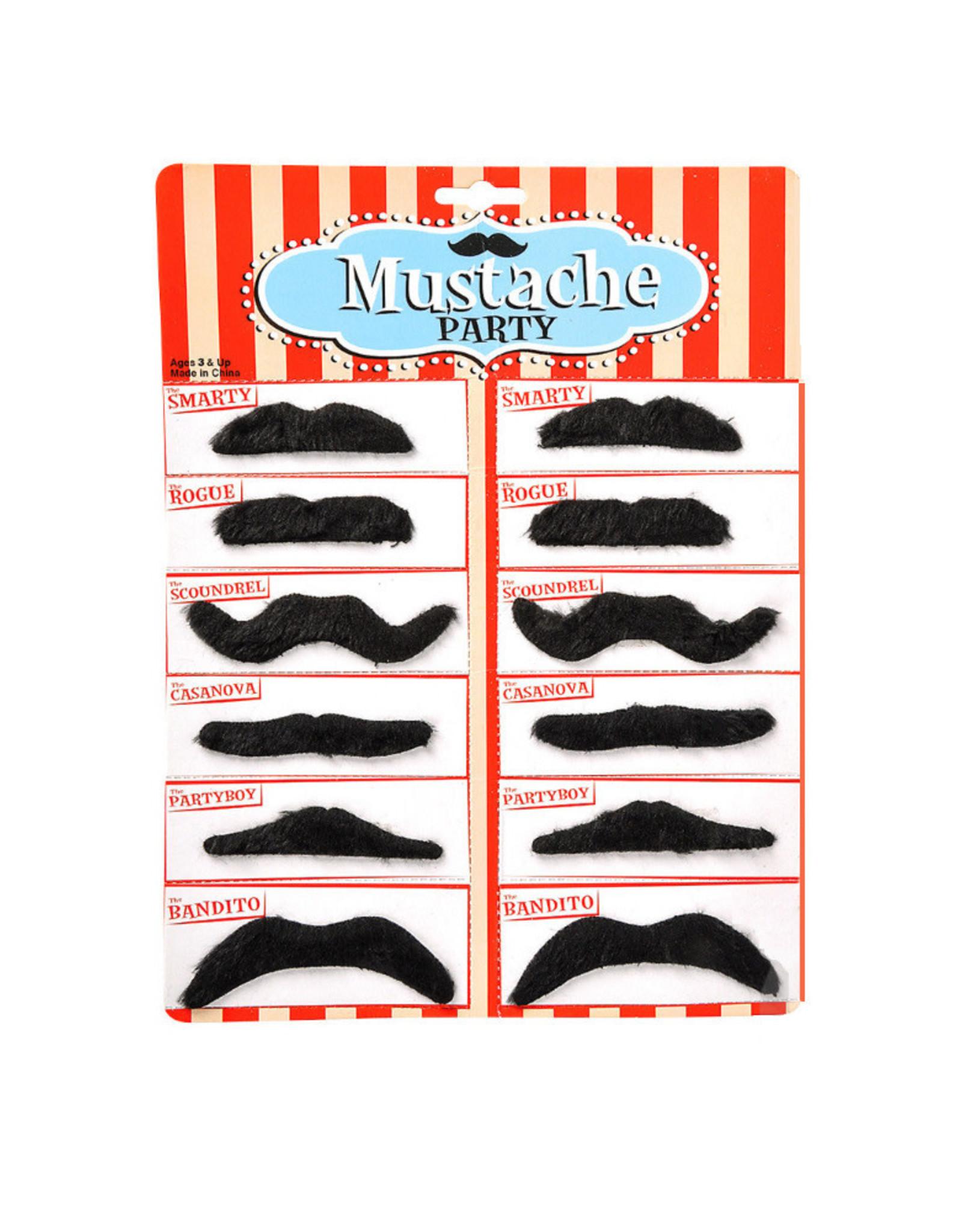 Toy Network Black Mustache