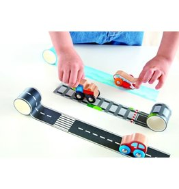 Hape Tape and Roll Car