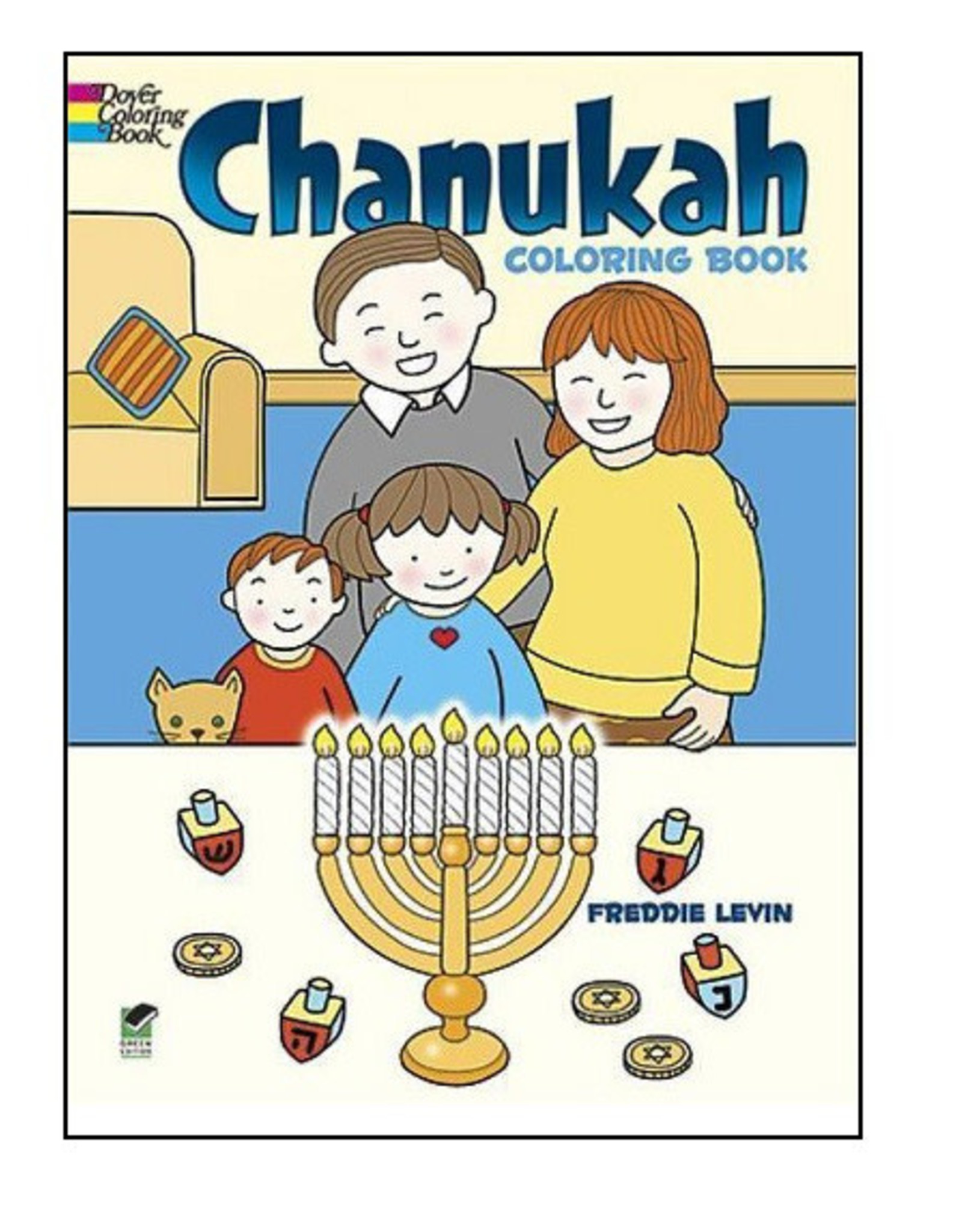 Dover Coloring Books Chanukah Coloring Book