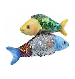 Reverse Sequins Plush Fish