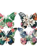 Flutter Gallery 3D Glow in the Dark Butterfly Magnets