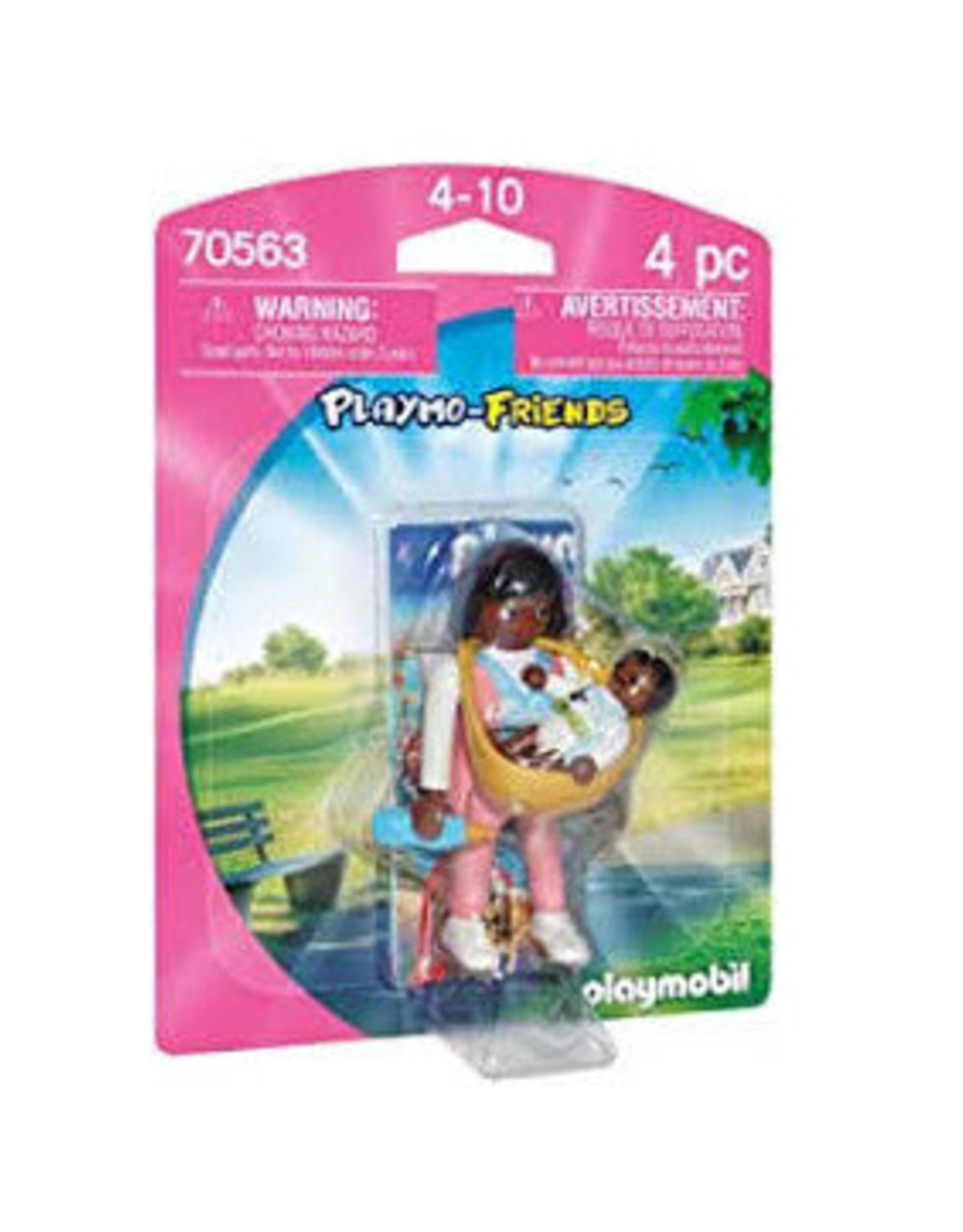 Mother with Baby Carrier Playmobil