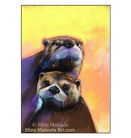 Mimi Card: Otters