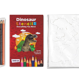 Cassidy Labs Stencil Dinosaurs 3-pack