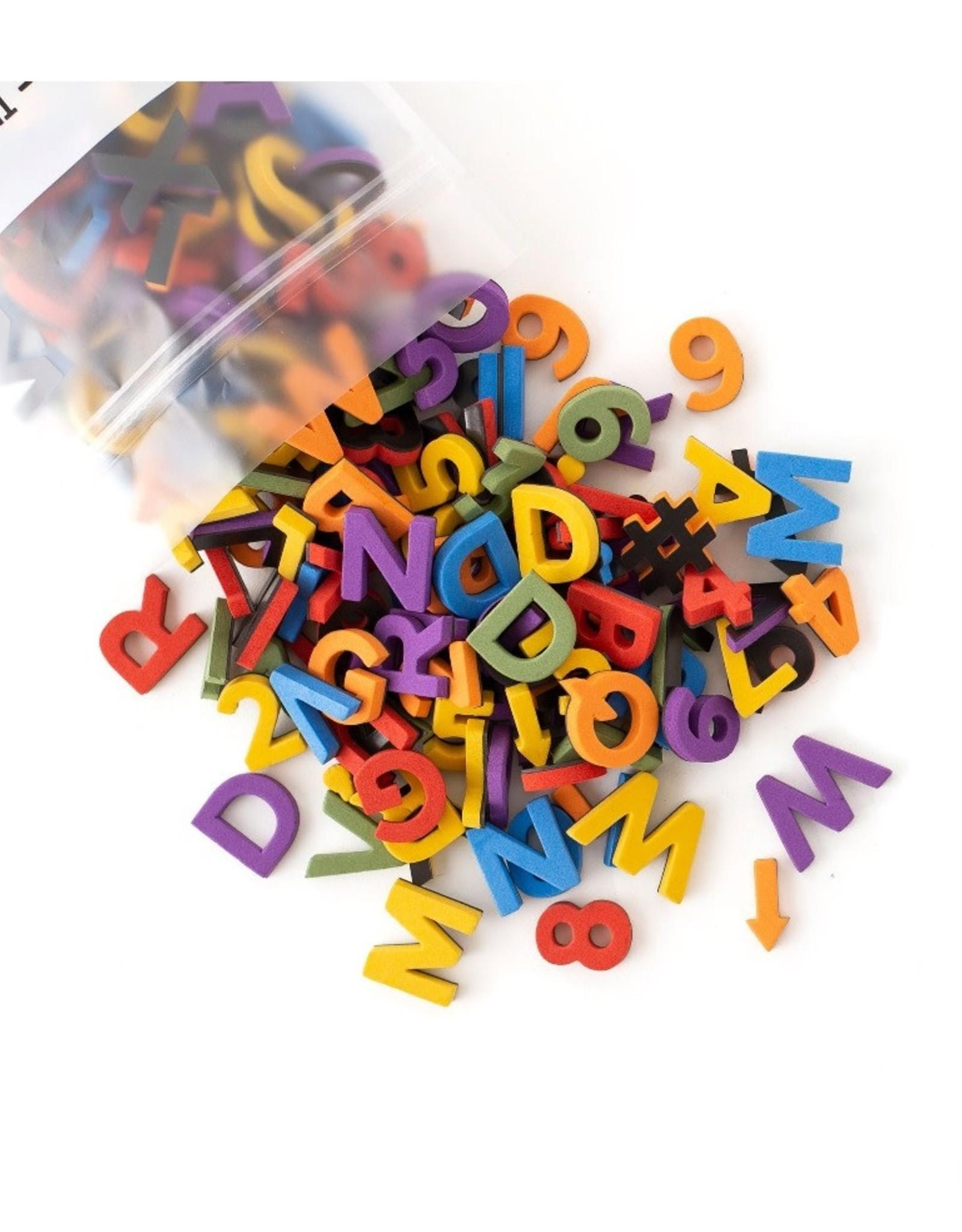 """Type Set Co. Soft Letters 1"""" Sans Serif Confetti"""