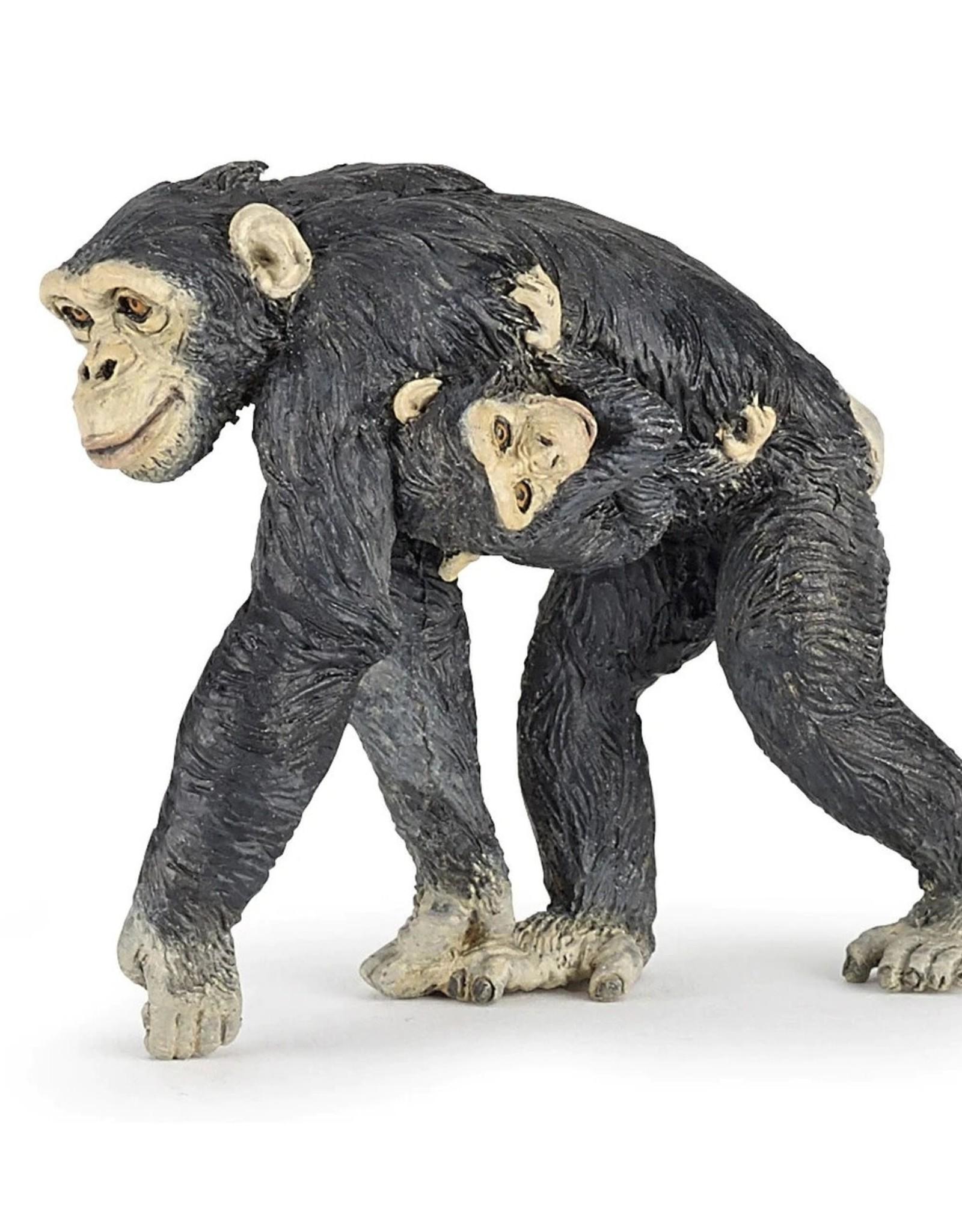 Papo Chimpanzee and Baby