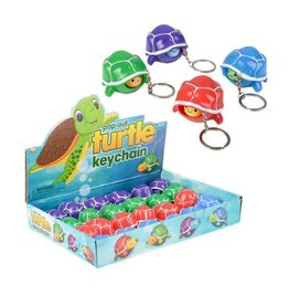 Toy Network Pop Out Turtle keychain