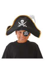 Pirate Hat W/Feather