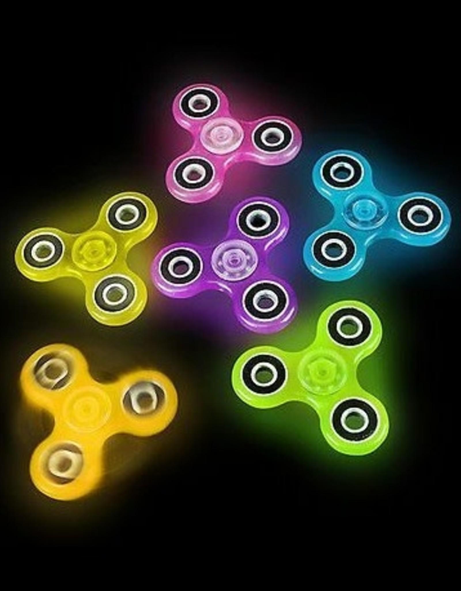 Fidget Spinners Glow in the Dark (assorted)