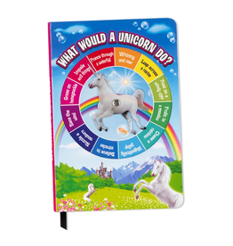 Accoutrements Unicorn Spinner - Notebook