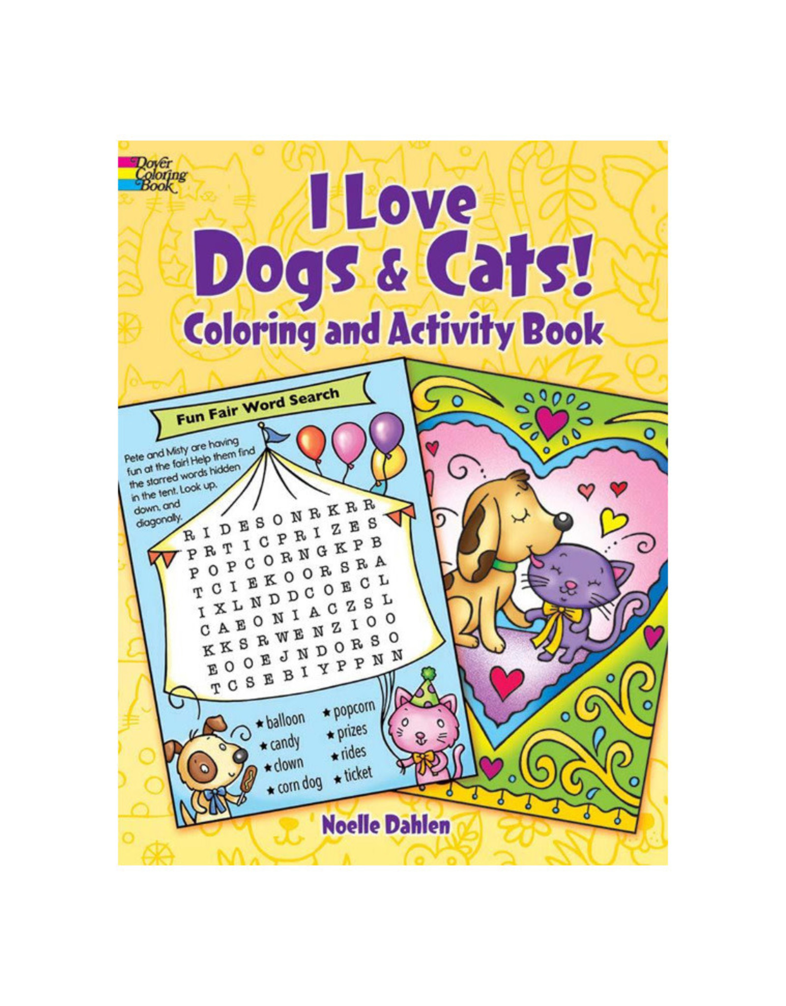 I Love Dogs & Cats Coloring & Activity Book