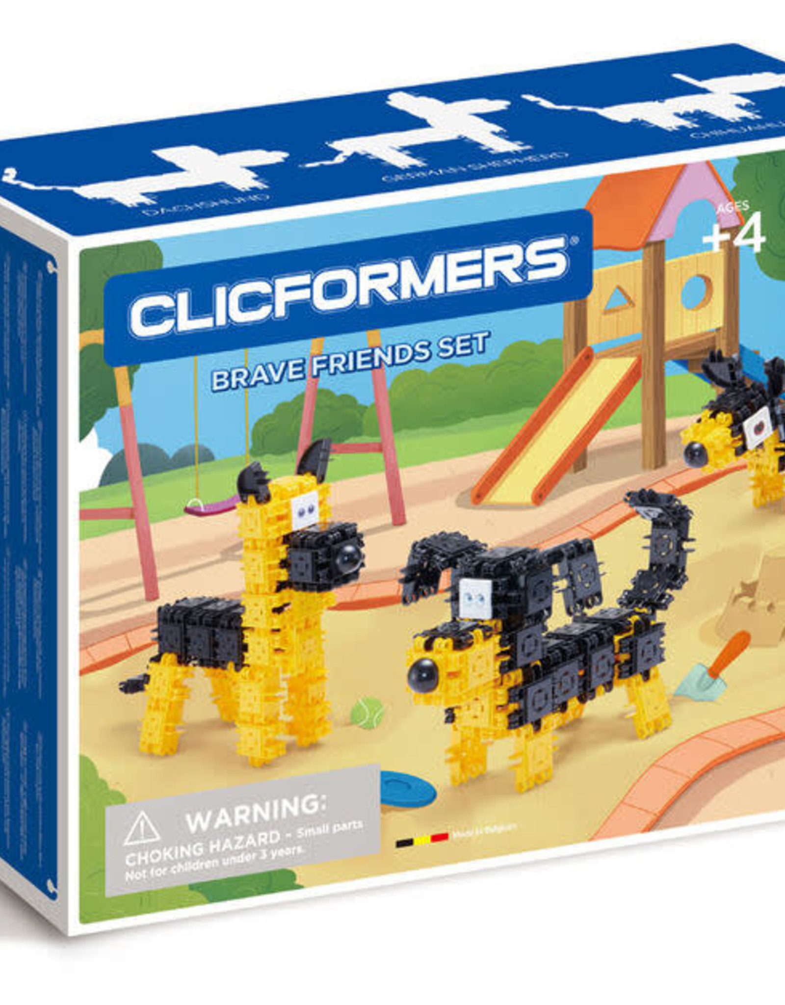 Clicformers Yellow & White Friends 73pc set