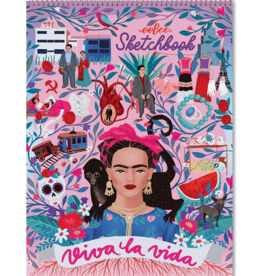 eeboo Sketchbook Viva La Vida Frida