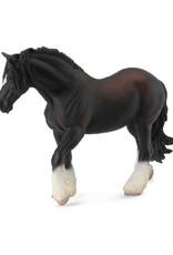 Papo Black Shire Horse