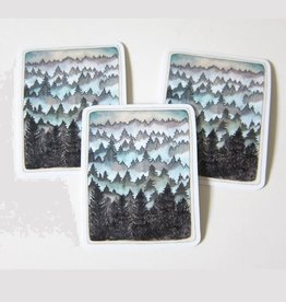 Michele Maule Vinyl Forest  Stickers (3 Pack) Maule