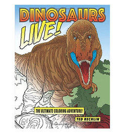 Dinosaurs Live Coloring Book