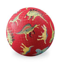 "Crocodile Creek 5"" Playball: Dinosaurs Red"