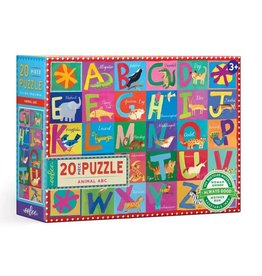 Animal ABC Puzzle 20pc. Eeboo