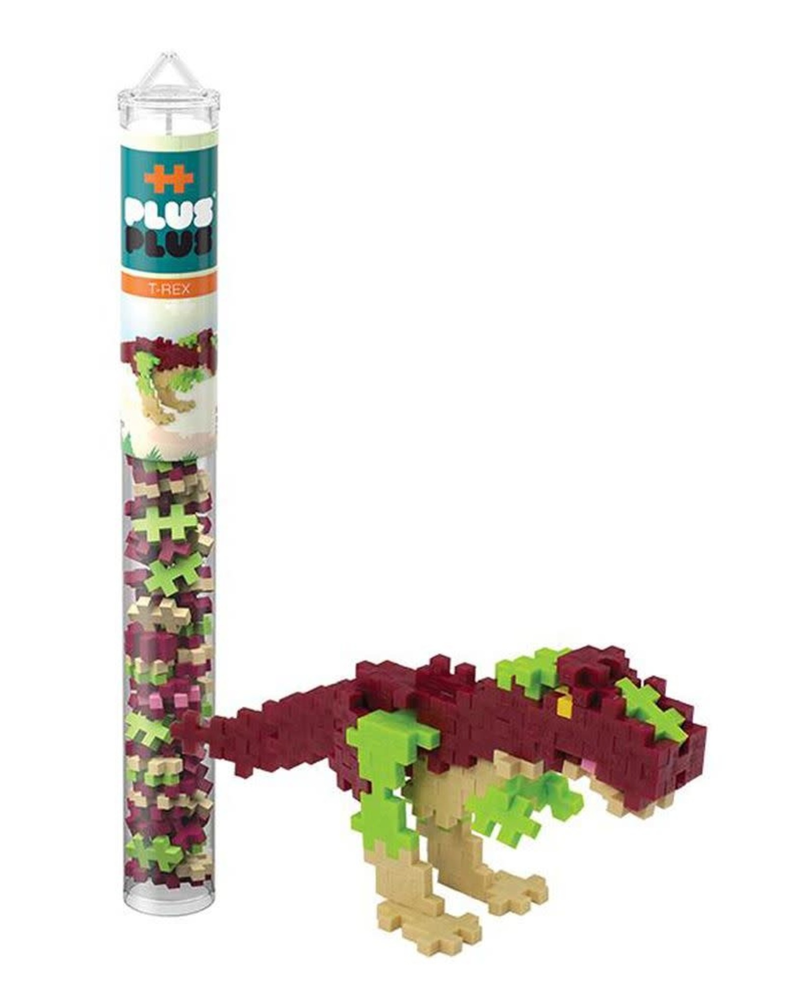 Plus-Plus Tube - Tryannosaurus Rex
