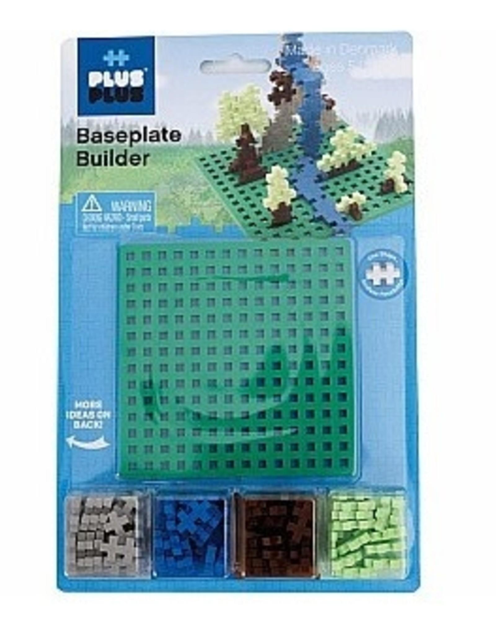 Plus-Plus Baseplate - Duo (Green)