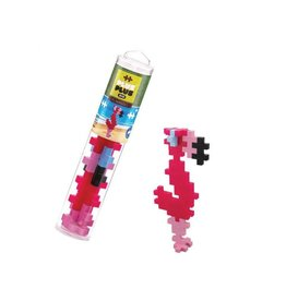 Plus-Plus BIG 15 pc tube - Flamingo