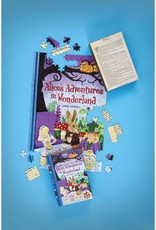 Jigsaw Library: Alice's Adventures in Wonderland