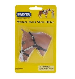 Reeves International Stock Show Halter with Lead